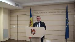 Declarațiile lui Tudor Deliu după ședința biroului permanent al Parlamentului din 21 octombrie 2015