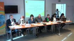 """Masa rotundă cu tema """"Contractarea serviciilor sociale: o soluție pentru a răspunde eficient la nevoia de servicii sociale a grupurilor vulnerabile din România!"""""""