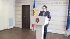 Declarațiile lui Vadim Pistrinciuc în timpul ședinței Parlamentului din 22 octombrie 2015