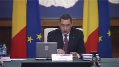 Ședința Guvernului României din 23 octombrie 2015 (imagini protocolare)