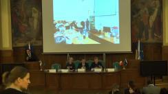 """Conferința de finalizare a proiectului """"Practică în domeniul resurselor umane pentru studenți – PREUS"""""""