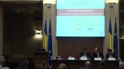 """Conferința cursdeguvernare.ro cu tema """"Creșterea sustenabilă: Mediul de afaceri și rolul său în echilibrul macroeconomic și în convergența reală"""""""