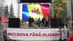 """Conferință de presă susținută de avocata Ana Ursachi cu tema """"Motivele reținerii lui Renao Usatîi: Răfuiala politică"""""""