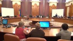 Dezbatere pe tema proiectului de lege privind votul prin corespondență, precum și modificarea și completarea unor acte normative în domeniul electoral