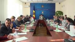 Ședința Grupului de lucru pentru reglementarea activității de întreprinzător din 28 octombrie 2015