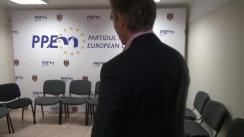 Declarații după ședința biroului politic al Partidului Popular European din Moldova