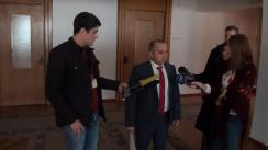 Declarațiile lui Ștefan Creangă privind desfășurarea concursului de selectare a candidatului pentru funcția de Guvernator al BNM