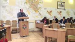 Declarațiile lui Ion Ceban în timpul ședinței Consiliului Municipal Chișinău din 29 octombrie 2015