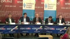 """Dezbaterea publică cu tema """"Șansele AIE 4 și ale Republicii Moldova"""""""
