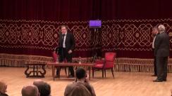 """Horia-Roman Patapievici și Alain Finkielkraut discută despre """"Ce se întâmplă cu Europa?"""""""