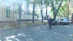 Prim-ministrul Valeriu Streleț prezintă demisia Guvernului în fața Președintelui Nicolae Timofti