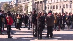 Marș dedicat victimelor incendiului din clubul Colectiv din București