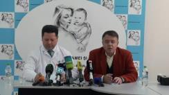 Conferință de presă privind proiectele executate în scopul îmbunătățirii calității serviciilor medicale oferite de Institutul Mamei și Copilului precum și cele aflate în derulare