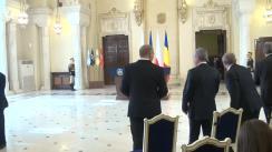 Conferință de presă susținută de președintele României, Klaus Iohannis, și președintele Republicii Polone, Andrzej Duda