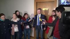Declarațiile candidatului la funcția de guvernator BNM, Veaceslav Negruța