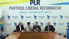 """Conferință de presă organizată de Partidul Liberal Reformator cu tema """"Cine, totuși, a trădat Republica Moldova și cursul ei european?"""""""