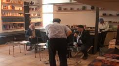 """Conferința «La musique """"tsigane"""" ou le fruit défendu. Rencontre avec les lautari de Clejani», susținută de Laurent Aubert, etnomuzicolog prezent în România cu ocazia deschiderii expoziției """"Pe aripile timpului"""""""