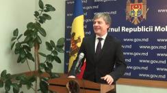 Declarațiile lui Valeriu Triboi după ședința Guvernului Republicii Moldova din 4 noiembrie 2015