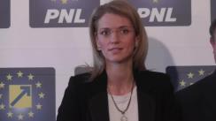Conferință de presă susținută de co-președintiții PNL, Alina Gorghiu și Vasile Blaga, privind demisia prim-ministrului Victor Ponta