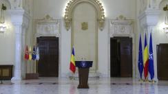 Declarație de presă susținută de președintele României, Klaus Iohannis, după demisia prim-ministrului Victor Ponta