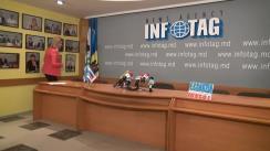 """Conferință de presă susținută de Guvernatorul Găgăuziei, Irina Vlah, cu tema """"Forumul Internațional de Investiții și serbarea Zilei vinului în Găgăuzia"""""""