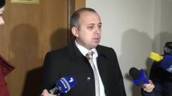 Declarațiile lui Ștefan Creangă după audierile candidaților la funcția de guvernator BNM