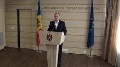 Declarațiile lui Vlad Batrîncea în timpul ședinței Parlamentului din 5 noiembrie 2015