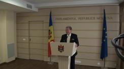 Declarațiile lui Mihai Ghimpu în timpul ședinței Parlamentului din 5 noiembrie 2015