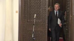 Declarațiile lui Liviu Dragnea după consultările purtate cu președintele României, Klaus Iohannis, în vederea desemnării unui candidat pentru funcția de prim-ministru