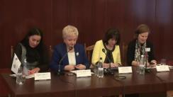 """Conferința """"Oportunități create de Programul Compact pentru afirmarea femeilor"""", organizată de Fondul Provocările Mileniului Moldova"""