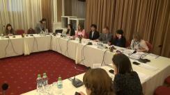 """Masa rotundă organizată de Centrul pentru Jurnalism Independent și ONU Moldova cu genericul """"Statisticile de gen în presă"""""""