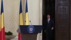 Declarație de presă susținută de președintele României, Klaus Iohannis, după consultările cu partidele parlamentare și societatea civilă în vederea desemnării unui candidat pentru funcția de prim-ministru