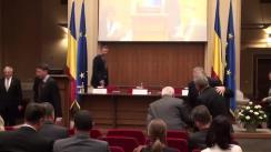 """Conferință de presă organizată de Banca Națională a României cu tema """"Raportul asupra inflației"""""""