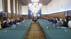 Ședința Guvernului României din 9 noiembrie 2015 (imagini protocolare)