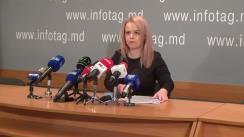 """Conferință de presă susținută de avocata Ana Ursachi cu tema """"Clasarea dosarului Butmalai, următoarea greșeală a lui Plahotniuc. Detalii privind alte dosare fabricate"""""""