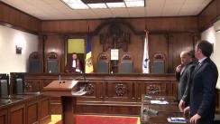 Ședința Curții Constituționale pe marginea inițiativei civice de modificare a Constituției privind imunitatea și numărul deputaților în Parlament, dar și cu referire la alegerea și demiterea Președintelui