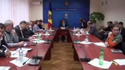Ședința Grupului de lucru pentru reglementarea activității de întreprinzător din 11 noiembrie 2015