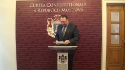 Declarațiile lui Alexandru Tănase după avizul Curții Constituționale cu privire la inițiativa civică de revizuire a Constituției prin referendum republican
