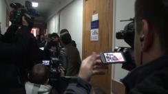 Ședința de judecată privind prelungirea mandatului de arest pe numele deputatului Vlad Filat