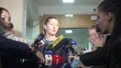 Declarațiile procurorului Adriana Bețișor după hotărârea Judecătoriei Buiucani privind prelungirea mandatului de arest pe numele deputatului Vlad Filat