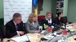 """Briefing de presă organizată de Banca Mondială, UNFPA, Fondul Organizației Națiunilor Unite pentru Populație și HelpAge International cu tema """"Abordarea îmbătrânirii în Republica Moldova"""""""