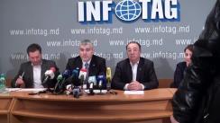 """Conferință de presă cu tema """"Situația dezastruoasă din agricultură și apelul public către viitorul candidat la funcția de Prim-ministru al Republicii Moldova"""""""