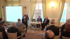 """Dezbaterea organizată de Fundația Europeană Titulescu și Centrul de Studii Strategice cu tema """"Locul și relevanța ONU în relațiile internaționale actuale"""""""