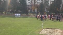 Meciul de Rugby între U Cluj - CS Dinamo. Meci tur locurile 5 și 6 din SuperLiga CEC BANK 2015