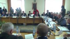 Audierea candidatului pentru funcția de ministru al Afacerilor Interne, Petre Tobă