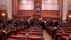 Ședința comună a Senatului și Camerei Deputaților României din 17 noiembrie 2015