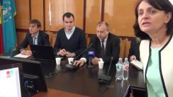 Conferință de presă organizată de Institutul de Cercetări Juridice și Politice al AȘM și Intellect Group cu ocazia prezentării studiului Rating Politic