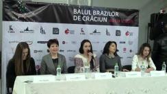 Conferința de presă dedicată desfășurării Balului Brazilor de Crăciun 2015