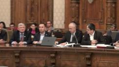Audierea candidatului la funcția de ministru al Comunicațiilor și pentru Societatea Informațională, Marius-Raul Bostan
