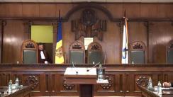 Hotărârea Curții Constituționale cu privire la ridicarea imunității parlamentare a deputatului Vlad Filat